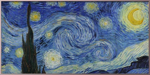 """Vincent van Gogh """"The Starry Night"""" painting"""