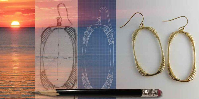 Oval Hoops Earrings