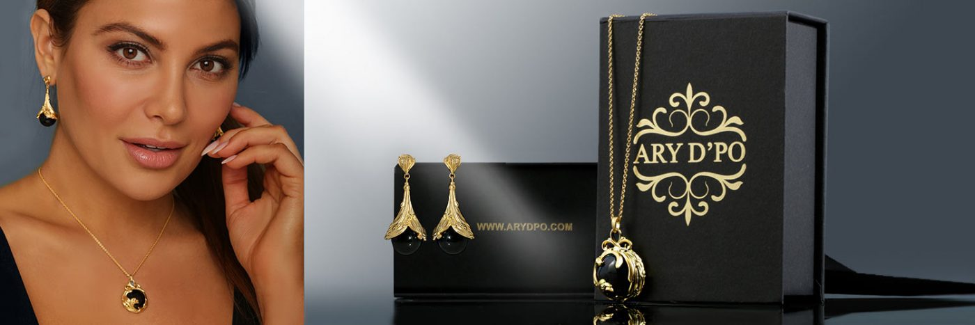 ARY D'PO Banner Black Jewel Collection