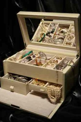 How To Care For And Store Your Precious Jewelry Collection -white jewelry box