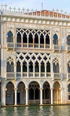 "The Ca' d'Oro or Palazzo Santa Sofia or ""golden house"""