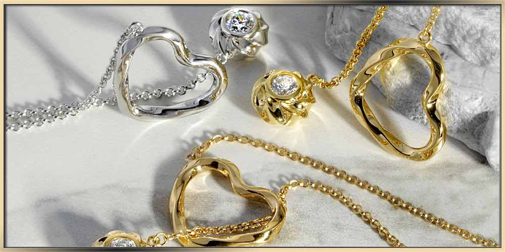 Gold and Rhodium Plated Jewelry