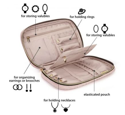 Jewelry Organizer for Travel by BAGSMART