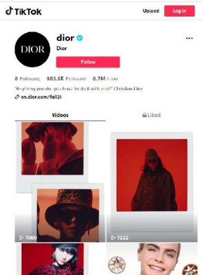 TikTok Dior