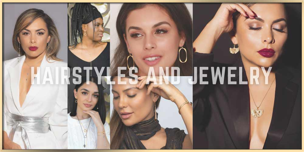 How To Choose Jewelry To Match Your Hairstyle