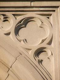 Quatrefoil element used in architecture
