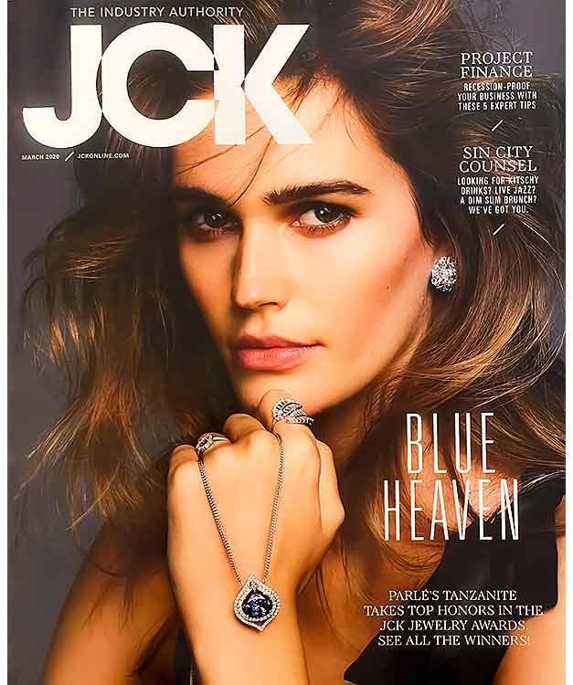 2020 JCK The industry authority Jewelerers choice Award 2020 ARY D'PO Black Jewel pendant necklace